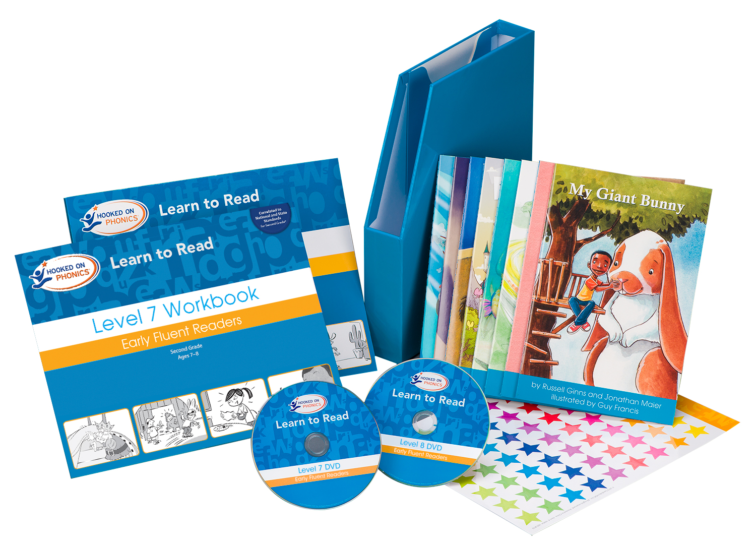 Learn To Read Kit Hooked On Phonics